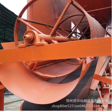 供应多款石料场专用滚筒筛 工地用震动筛选机 滚筒筛沙机生产线