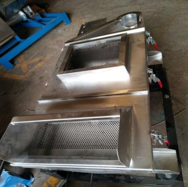 供应PVC塑料筛选机 大型方形塑料振动筛 色母分选机生产厂家