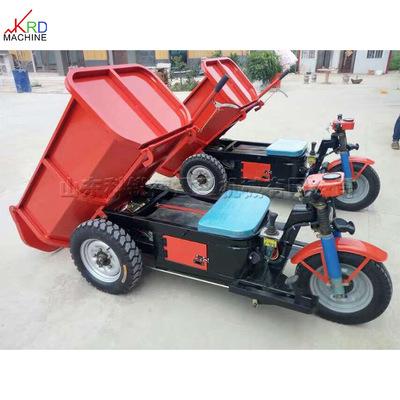 散料短途用电三轮 电三轮翻斗电动工程车 免维护电瓶 爬坡能力强