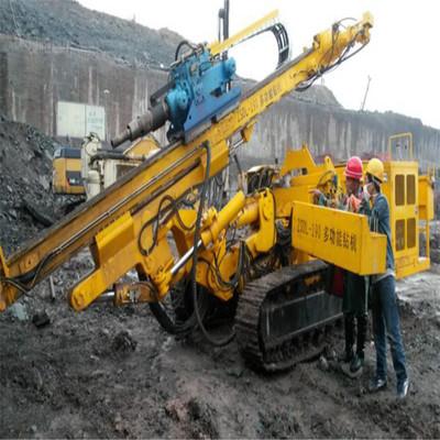 商家主营锚固钻机 工程专用多功能锚固钻机 全液压履带式锚固钻机