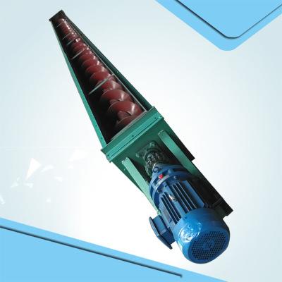 管式螺旋提升机 颗粒粉末螺旋输送机 定做移动升降螺旋提升输送机