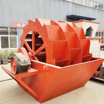 海沙淡化生产线叶轮型洗砂机 矿山洗沙设备 洗砂筛沙成套生产线