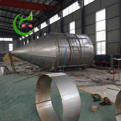 珠海304不锈钢旋风分离器 HX-1410旋风除尘器 直径800旋风收尘器