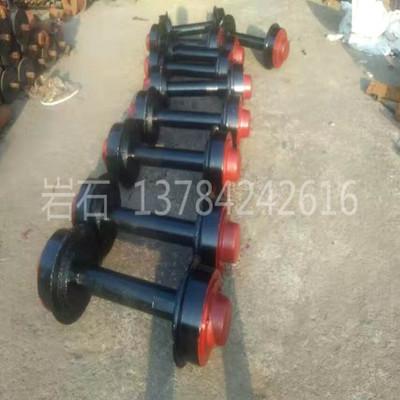 矿车轮 1.4吨矿车用300*600型号矿车轮对 单边轮 平板车轮 定制