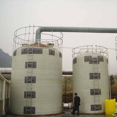 玻璃钢脱硫塔 喷淋脱硫塔脱硫除尘器 砖厂玻璃钢脱硫塔厂家