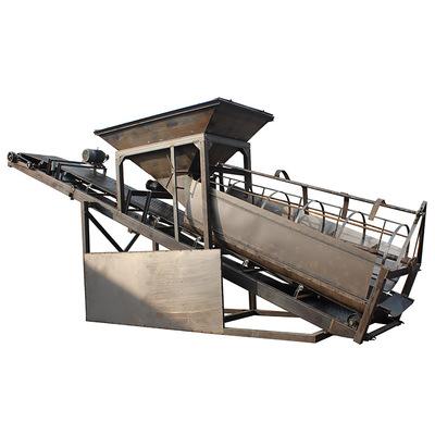 滚动式筛砂机厂家直销30型震动筛砂机筛网滚筒50型砂石分离机