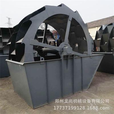 砂石料水洗设备 人工洗砂机 自动洗沙机生产线 轮斗筛沙生产线
