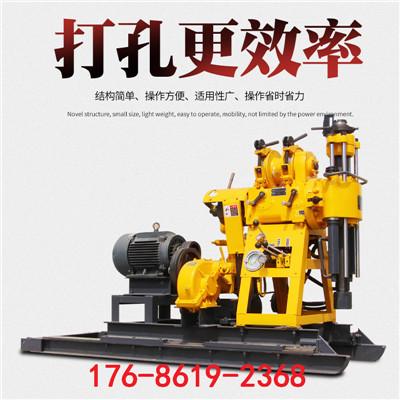 家庭用钻井机 柴油液压地质勘探钻机 灌溉打井机