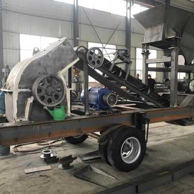 厂价直销,小型移动制砂机 小型制沙机 小型移动破碎机