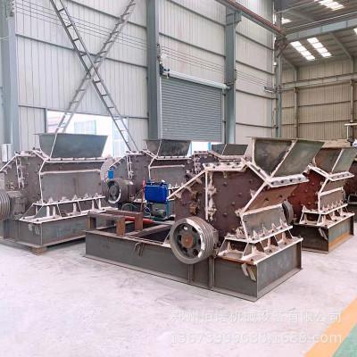 砂石料场反击式细碎制砂机 现货河卵石青石高效液压开箱制砂机