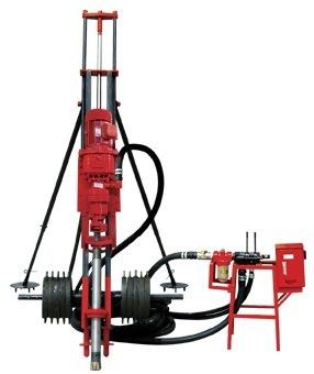 专业销售 KQD100B型潜孔钻机 优质电动潜孔钻机