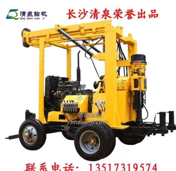 湖南长沙清泉钻井机 YZJ-300YY自动液压钻井机