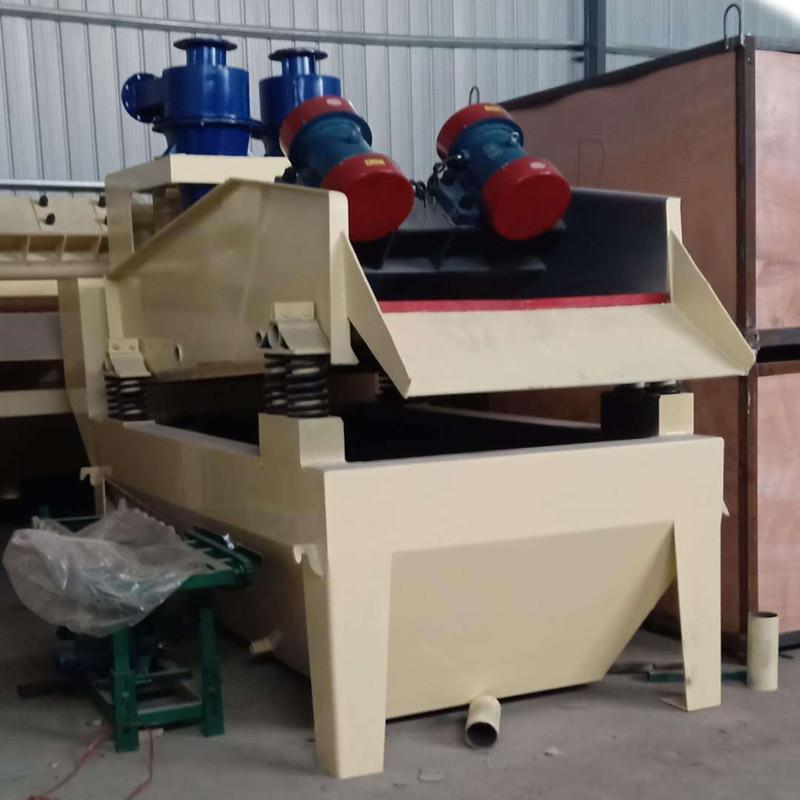 脱水型细沙回收机 细沙回收脱水一体机湿法制砂生产线