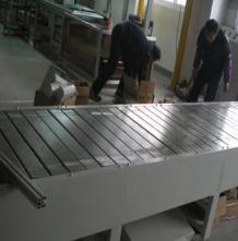 自动链板线输送机304不锈钢耐高温电子生产流水线大型防滑链板机定金