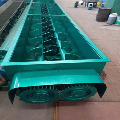 双轴强制搅拌机1000*5000型槽式双轴搅拌机双轴煤泥混合搅拌机