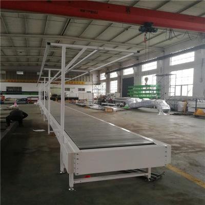 厂家直销定制不锈钢链板式输送机移动式流水线输送设备定金