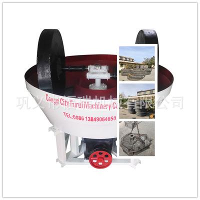矿山机械细磨机湿式研磨机厂家 供应淘金研磨设备1300型碾金机