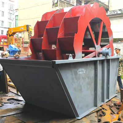 大型轮斗洗砂机设备洗砂机生产线轮斗式洗沙机轮式洗砂设备风火轮