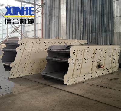 厂家供应石料筛分机 多层石头筛分设备大型直线筛沙机筛圆振动筛定金