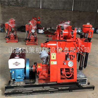 GK200地质勘探水井钻机 150米深孔钻井机 山区全液压岩石取芯钻机
