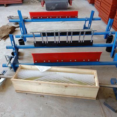 矿业输送设备厂家供应 滚刷清扫器 电动滚刷清扫器 规格可定制