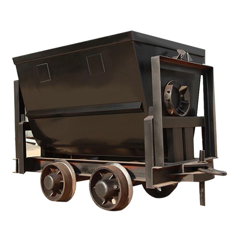 厂家生产翻斗式矿车矿用矿山输送车U型V型 矿用电机车翻斗式矿车
