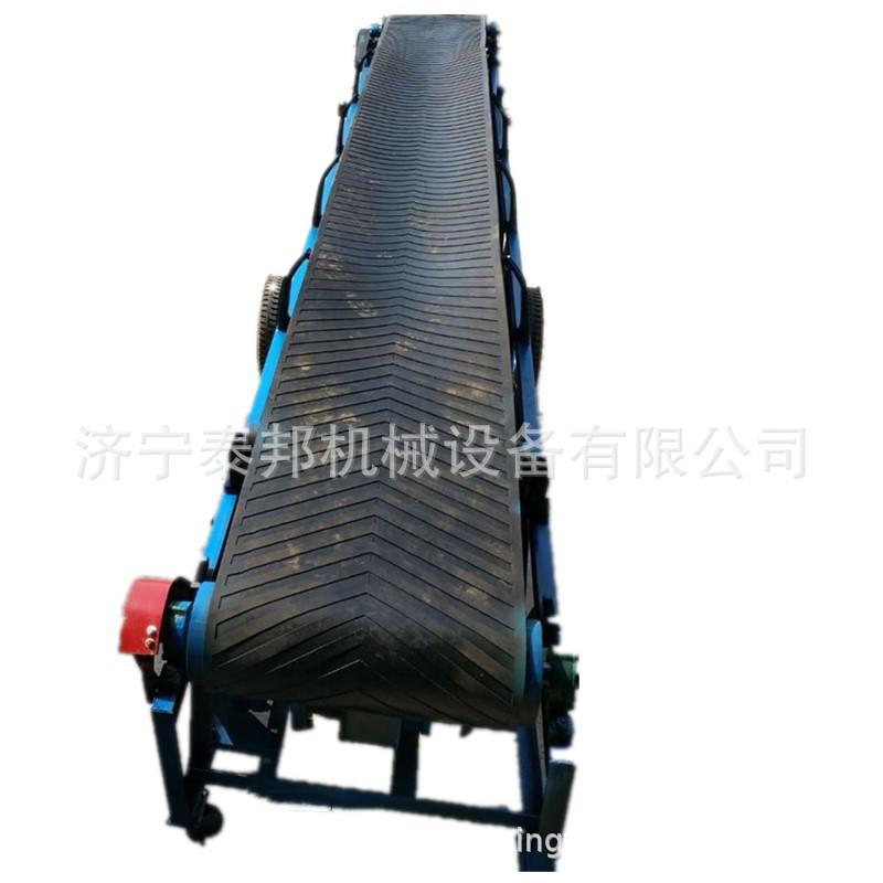 TB-500型自动化皮带输送机设备 可移动电动升降皮带输送机定金