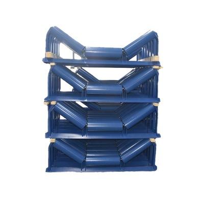 专业生产皮带机用三联防水防尘托辊组量大从优 输送带槽型托辊组